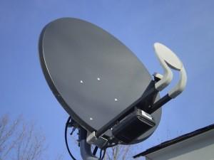 Die größte Auswahl beim Empfang von Pay-TV haben Sie mit einer Satellitenschüssel.
